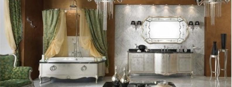 Banyolarda Kristal Taşlı Avize Modelleri Kullanmak