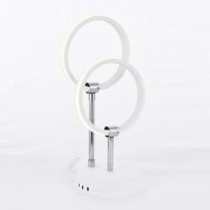 Muskat 2'Li Led Masa Lambası - Beyaz