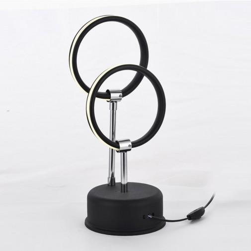 Muskat 2'Li Led Masa Lambası - Siyah