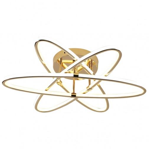 Dariel 3'Lü Led Plafonyer Avize - Gold